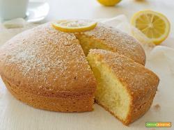 Torta limone e yogurt semplice