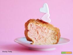 Ciambella rosa panna e Alchermes