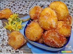 Frittelle dolci con ricotta e mascarpone