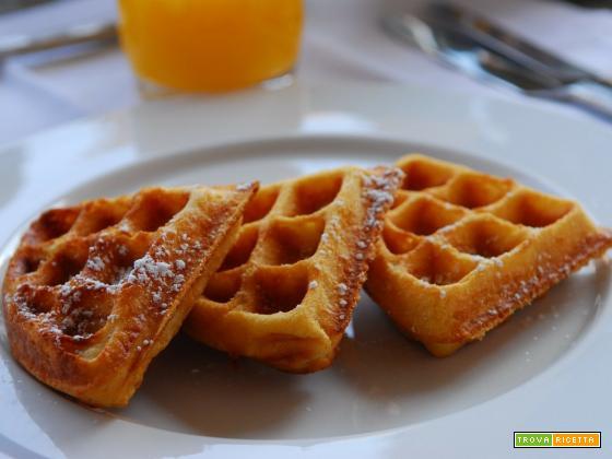 Waffle al siero di latte: Ricetta