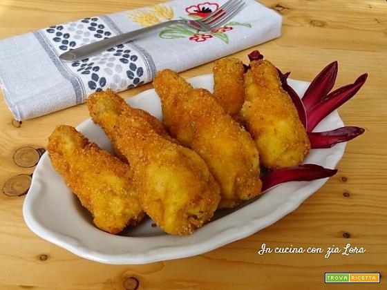 Alette di pollo fritte impanate