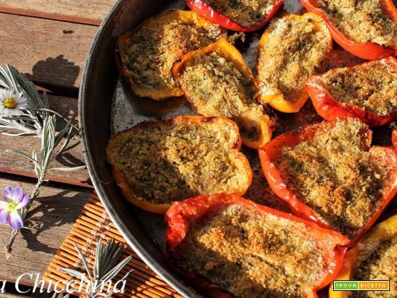 Peperoni gratinati