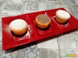 Muffin farciti al cioccolato