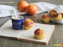 Muffin alla arancia – ricetta senza burro ed olio