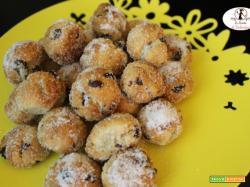 Frittelle di carnevale in friggitrice ad aria