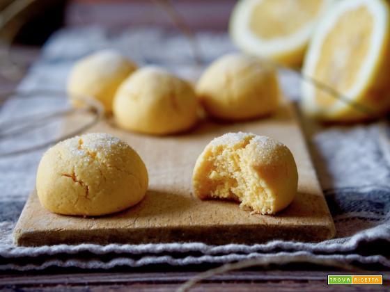 Biscotti al Limone e Farina di Mais