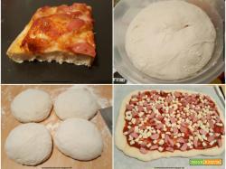 Pizza wurstel e mozzarella