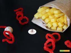 Stick di polenta fritta con la friggitrice ad aria