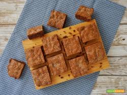 Brownie cioccolato fondente e cocco