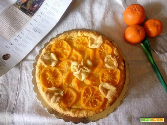 Crostata crema e mandarini
