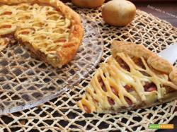 Torta rustica in crosta di sfoglia