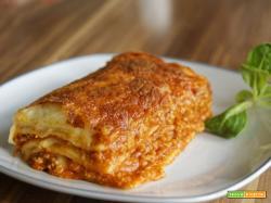 Lasagne ai 4 formaggi : Ricetta