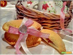 Ravioli dolci con marmellata cotti al forno | senza lattosio