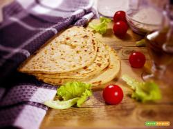 Piadina Vegan con farina semi integrale Bio