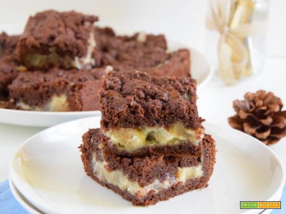 Crumble cake alle pere e cannella