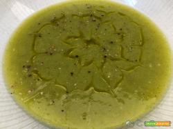 Vellutata di zucchine, porri e patate con il CuCo Moulinex