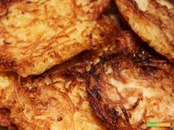Frittelle di patate : Ricetta veloce