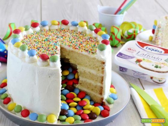 Che festa in maschera sarebbe senza la torta di Carnevale ?