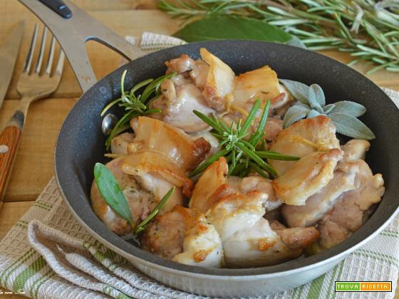 Involtini di pollo bacon e senape facili e succosi