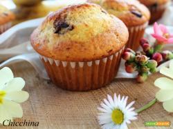 Ciocco-banana muffin