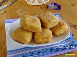 Mozzarella in carrozza fritta croccante