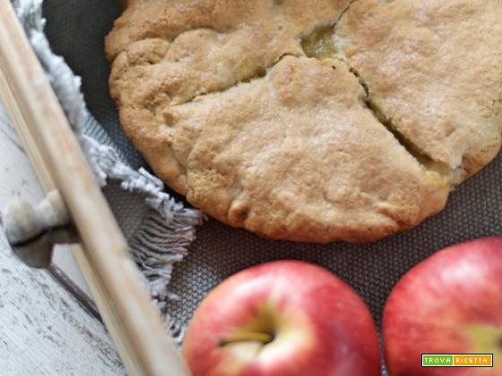 Apple pie vegan col Bimby