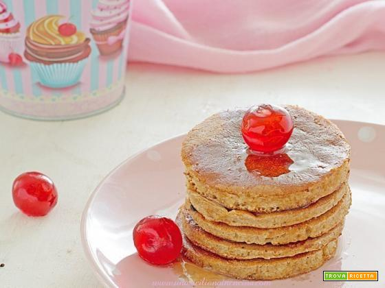Pancakes integrali allo yogurt