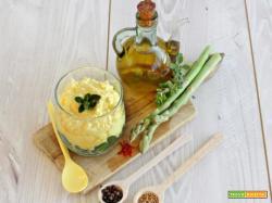 Festa della donna: ecco gli asparagi e fiocchi di latte allo zafferano