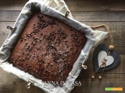 Torta gelato e gocce al cioccolato