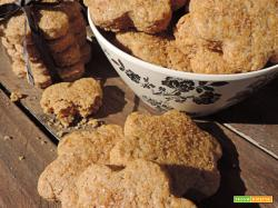 Fiori integrali con zucchero di canna ( senza burro)