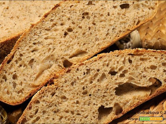Pane supermorbido al farro con porridge di 6 cereali