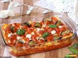 Lasagna alla siciliana con polpettine
