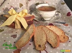 Biscotti del lagaccio vegani con lievito madre (senza anice)