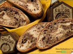 Pane zebrato con i semi neri a modo mio e semi