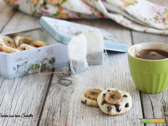 Cookie banana e cioccolato