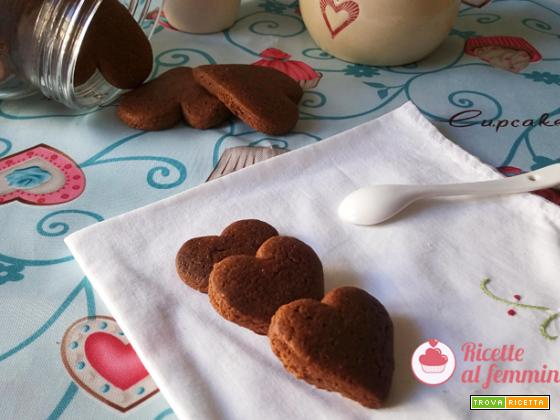 Biscotti batticuore con e senza bimby
