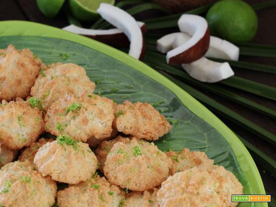 Biscottini al Cocco e Lime