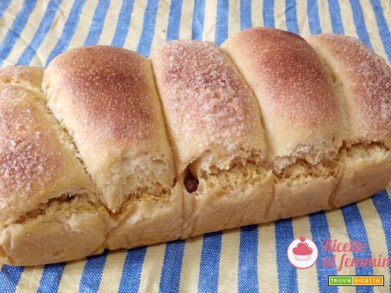 Pan brioche alla patata dolce con lievito madre