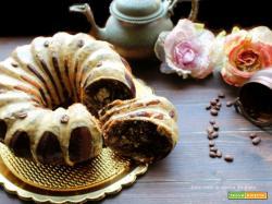 Ciambella soffice con glassa al caffe'