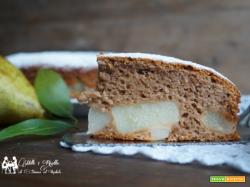 Torta Nutella e Pere