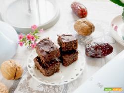 Vegan Glutenfree Brownies senza usare il forno!