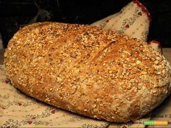 Pane ricco ai semi e fiocchi d'avena piccoli