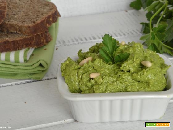 Salsa verde genovese leggera e gustosa