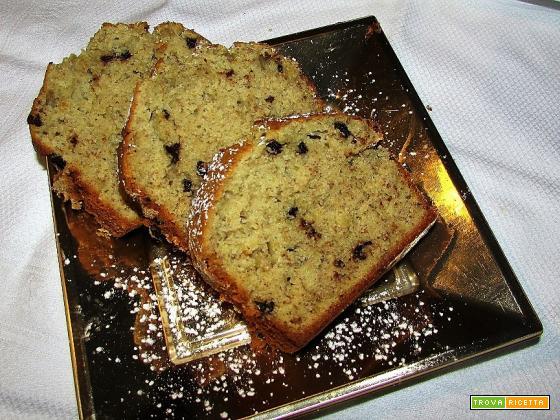 Ricetta – Plumcake banane e gocce di cioccolato