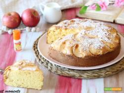 Torta di mele con farina di mais