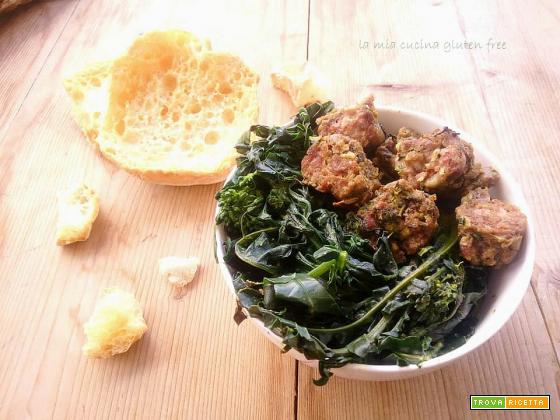 Broccolo fiolaro con salsiccia piccante