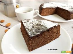 Torta alle Mandorle e Carrube Senza Zucchero e Proteica