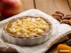 Ecco perché oggi prepariamo la torta crudista alle mele!