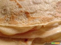 Crêpes: ricetta base veloce da fare