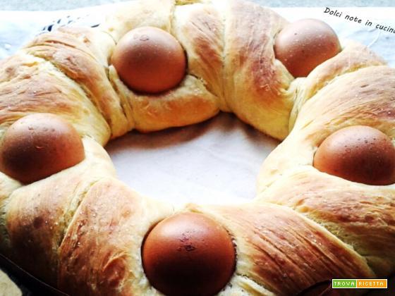 Pane ghirlanda di Pasqua